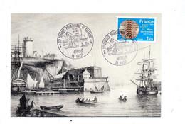 Carte Cachet  Brest Congres - Cachets Commémoratifs
