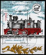 2002 - Locomotives à Vapeur  Mi No Block 323 - Gebraucht