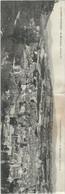 LOZERE : Marvejols : Panorama, Carte Triptyque (Prise En Deux Scans) Format 9cm X41cm... Rare... - Marvejols