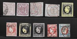 Roumanie Dix Classiques 1862/1869. Bonnes Valeurs. A Saisir! - 1858-1880 Moldavië & Prinsdom