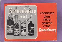 Publicité Format Carte Postale Bière Kronenbourg 1664 Choisissez Dans Notre Gamme Votre KRONENBOURG - Advertising