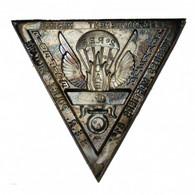 Médaille Plaque Triangle CAE 2° R.E.P Police Militaire - France