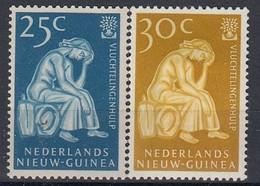 NETHERLANDS New Guinea 61-62,unused - Nouvelle Guinée Néerlandaise