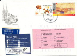 Croatia Cover Zagreb 10-6-1995 Topic Stamps Returned Inclompete Address - Croatie