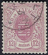 Luxembourg - Luxemburg - Timbre  Armoire 1875  12,5C. °  Michel 32 A   VC. 25,- - 1859-1880 Wapenschild