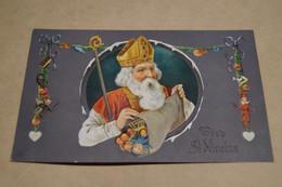 Saint Nicolas 1911,belle Carte Ancienne Pour Collection - San Nicolás