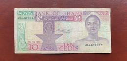Ghana 10 Cedis 1979    /21.10 - Ghana