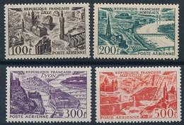 EC-526: FRANCE: Lot Avec  PA N°24/27** - 1927-1959 Ungebraucht