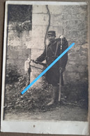 1915 Aisne Chemin Des Dames 33eme Régiment D'infanterie Trompette Clairon  Tranchée Poilu 14-18 Photo - Guerre, Militaire