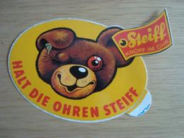 AUTOCOLLANT HALT DIE OHREN STEIFF - Stickers