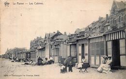 Belgique   La Panne - Les Cabines - De Panne