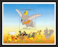 80198 Grenadines Grenade Grenada Dumbo Disney Bloc (BF) Neuf ** MNH - Disney