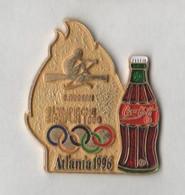 Pin's COCA COLA  J O  ATLANTA 1996  Aviron. - Coca-Cola
