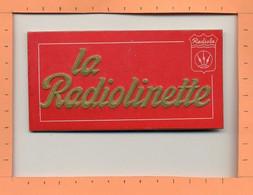 Publicité LA RADIOLINETTE (Radiola) / Petit Support De Vitrine Sur Carton Plastifié / 1960 - Altri