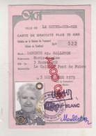 Au Plus Rapide Carte De Gratuité Transports Agglomération Toulonnaise - Ohne Zuordnung