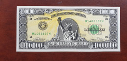 USA 1 Mio Dollar 1988 Fantasy Note UNC      /21.10 - Other