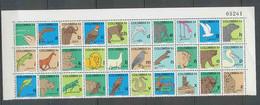 170 - Colombie (Colombia) ** MNH - COLOMBIE 742 / 771 Faune L'alphabet Espagnol Animaux Animals Rapace - Colombia