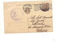 4265) Annullo 1931 Ponza Censura Direzione Colonia Confinati - Storia Postale