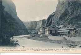 Ligne De La Mure Environs De Motte Les Bains (38 Isère) Gorges Du Drac Usine Hydro-électrique à Avignonnet - édit OV 557 - La Mure