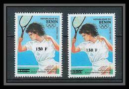 Bénin Dahomey 321 Michel N°1270 Jeux Olympiques (olympic Games) Atlanta 1996 Tennis Neuf ** MNH Cote 200 Euros - Benin – Dahomey (1960-...)