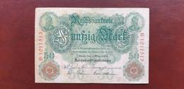 Ro 25b 50 Mark 1906 Serie M/B 7stellig  /21.10 - 50 Mark