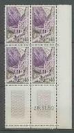 1186 - France - Coin Daté TB Neuf ** N°1237 Date 30/11/1959 - 1950-1959