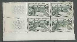 1205 - France - Coin Daté TB Neuf ** N°1192 Date 22/1/1959 - 1950-1959