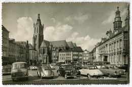 VW Käfer Ovali,Opel Olympia Rekord,DKW 3=6,Citroen Traction,Ford Taunus 17m P2,FK,Roermond, Gelaufen - Passenger Cars