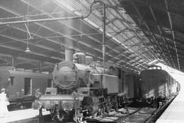 Paris-Bastille. Locomotive 131 TB 35. Cliché Jacques Bazin-09-07-1958 - Trains