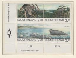 FINLAND MNH** MICHEL 1291/94 Naturschutz - Unused Stamps
