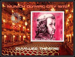 Nord Yemen YAR - 3637h/ N°156 B Mozart Jeux Olympiques Olympic Games Munich 1972 Non Dentelé Imperf ** MNH - Music