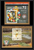 Nord Yemen YAR - 3948/ Blocs N°197/198 Football Soccer World Cup Argentina 1978 Neuf ** MNH 1980 Fifa Cup Cote 55 - 1978 – Argentina