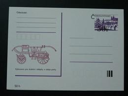 Entier Postal Stationery Card Véhicule De Pompier Firefighting Car Tchecoslovaquie Ref 65843 - Sapeurs-Pompiers