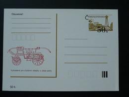 Entier Postal Stationery Card Véhicule De Pompier Firefighting Car Tchecoslovaquie Ref 65845 - Voitures