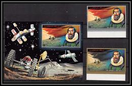 Ajman - 2682/ N° 1296/1297 A + Bloc 362 Kepler Espace (space) ** MNH 1972 - Ajman