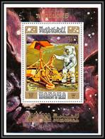 Manama - 3127/ Bloc N° 117 A Espace (space) APOLLO 15 Expériments On The Moon MNH ** - Manama