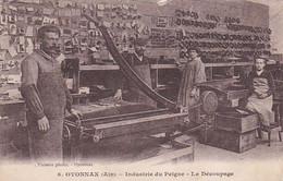 4825153Oyonnax, Industrie Du Peigne Le Découpage. (voir Coins, Des Bords, Verso) - Oyonnax