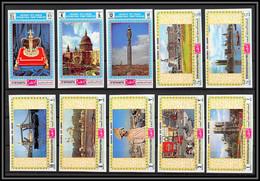 Yemen Royaume (kingdom) - 4172b/ N°1026/1035 B Philympia 70 London 1970 Neuf ** MNH Non Dentelé Imperf - Yemen