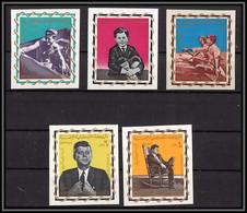Yemen Royaume (kingdom) - 4220/ N°139/143 B Kennedy Non Dentelé Imper 1965 Cote 36 Euros Neuf ** MNH - Kennedy (John F.)