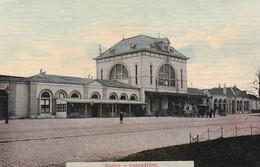 4843244Leeuwarden, Station. (poststempel 1908) - Leeuwarden