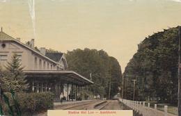 4843539Apeldoorn, Station Het Loo. 1913. (linksboven En Onder Een Vouw Zie Achterkant Plakker) - Apeldoorn
