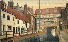 Waterway Under High Street Lincoln (Boots Cash Chemists-Pelham Ser.143) - Lincoln