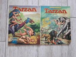 TARZAN TOMES 6 ET 8 COLLECTION APPEL DE LA JUNGLE RUSS MANNING SAGEDITION - Tarzan