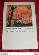 RAMSCAPELLE  -  Poste Aquatique - Secteur De Ramscapelle  8-12-17 - Knokke