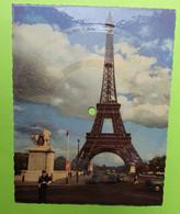 Carte Musicale - 75 PARIS - TOUR EIFFEL - Disque 45 Tours PHONOSCOPE - La Foule - CPA Carte Postale Ancienne - Vers 1960 - Formati Speciali