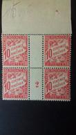 MONACO  TAXE N °3 **   MILLESIME 2 - Unused Stamps