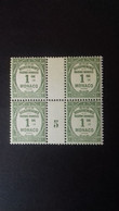 MONACO  TAXE N °13 **   MILLESIME 5 - Unused Stamps
