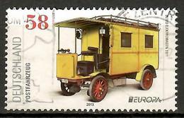 BRD   2013   Mi.Nr. 3007 , EUROPA CEPT  Postfahrzeuge - Gestempelt / Fine Used / (o) - Gebraucht