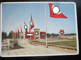 Propaganda Postkarte 3. Reich Reichsparteitag Nürnberg - Einriss! - Brieven En Documenten