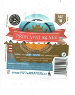 Czech Republic - Minibrewery In City Decin, Port ALE Beer, Self-adhesive Label - Birra